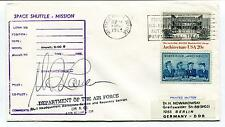 1983 Space Shuttle Mission signed by the Pilot Air Force Space Cover SIGNED
