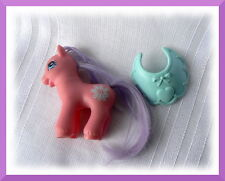 MY LITTLE PONY G2 BABY DEW & ACCESSORY RARE  European HASBRO  Poney