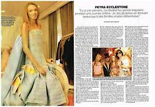 Coupure de presse Clipping 2004 (3 pages) Petra Ecclestone