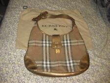 Burberry Gold Purse Handbag with Bag