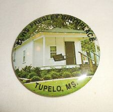 Elvis Presley Birthplace Tupelo MS rock n roll pin pinback FREE SHIPPING