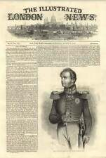 1844 His Majesty The King Of Prussia Military Pose Arms And The Empire