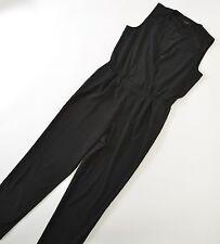 Ann Taylor Womens Jumpsuit Jumper Romper Black Lace Medium