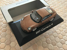 PORSCHE MINICHAMPS DEALER 911 991 CARRERA 4 COUPE 1:43rd SCALE MODEL 2013-2015