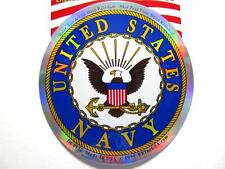"United States Navy Logo Decal Window / Bumper Sticker US ""Made in the USA"""