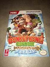USED  Donkey Kong Country: Tropical Freeze Prima Official Game Guide Rare