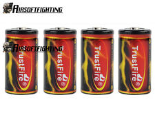 4X TrustFire 18350 3.7V 1200mAh Li-ion Rechargeable Battery for SureFire Torch