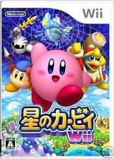 Used Wii Kirby's Return to Dreamland  NINTENDO JAPAN JP JAPANESE JAPONAIS IMPORT