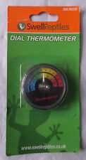 SWELL REPTILES DIAL THERMOMETER - BRAND NEW,  (BXP)