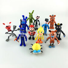 12x Cute Five Nights at Freddy's FNAF Game Action Figures Doll Kids Toy Set Gift
