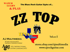 Custom Guitar Lessons, Learn ZZ Top v3