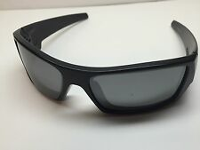 Oakley Gascan Sunglasses 12-856 Matte Black W/Grey Polarized Iridium Lens 60/15