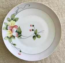 MEITO China Japan Hand Painted Plate Floral - 6-3/8""