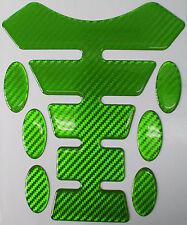 Verde De Fibra De Carbono 3d Resina Gel Tank Pad K1