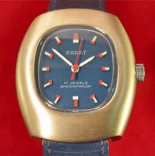 Parat Handaufzug Herren + Damen Vintage Uhr von 1972 mit Garantie