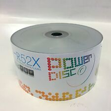 Special 500 Power Disc Logo Top 52X CD-R Recordable Blank Disc Media 700MB SALE