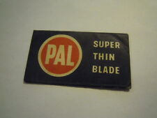 OLD RAZOR BLADE - LAMETTA DA BARBA - PAL - SUPER THIN BLADE (LAM)