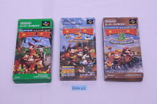 [Free track ship] Super Donkey Kong country 1 2 3 SNES SFC Super Famicom boxed 2
