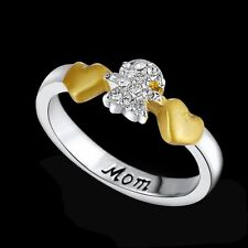 PERSONALIZED SILVER Plated Girls 2016 FAMILY Fashion RING Gifts JEWELERY Newest