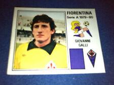 GIOVANNI GALLI Fiorentina Calciatori Panini 1979/80 n°98 Originale Rec
