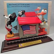 Disney Mickey Mouse & Donald Duck Train PRIDE LINES 1990 TCA 36th Convention Car