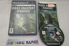BASS MASTER FISHING PS2 COMPLET (envoi suivi)