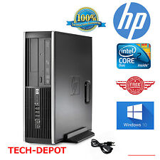 HP Computer Core 2 Duo Tower Desktop Computer PC 4GB 160GB Windows 10 FAST