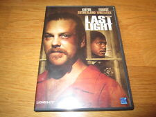 DVD - Last Light - Kiefer Sutherland - Forest Whitaker
