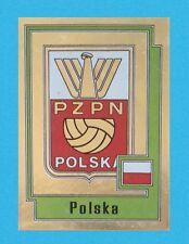 SCUDETTO CALCIATORI PANINI EUROPA 80 - RECUPERO - N.234 POLSKA