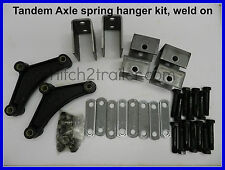 Tandem Axle Trailer Suspension Spring Hanger Kit 3500-7000 lb weld on 4102