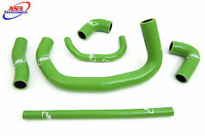 KAWASAKI ZX9R 1994 1995 1996 1997 HIGH PERFORMANCE SILICONE RADIATOR HOSES GREEN