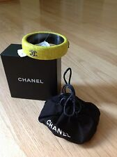 100% AUTH  CHANEL  CUFF BANGLE, SZ - M
