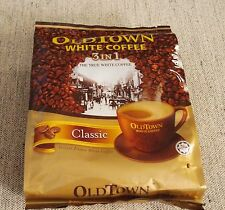 Old Town White Coffee 3 in 1 Classic Flavor IPOH, MALAYSIA 30 sachets (2 bags)