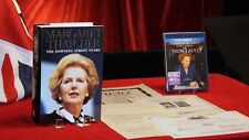 Signed MARGARET THATCHER BOOK, 1st ed DOWNING STREET YEARS, UACC, Blu Ray DVD