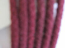 ROUND BURGANDY BOOT LACES 130cm X 5  PAIRS  8 TO 12 EYE WORK BOOTS HICKING/BOOTS