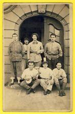 cpa Carte Photo TRÈVES en 1925 Service MILITAIRE 41e RAD Armée du Rhin René HUEL