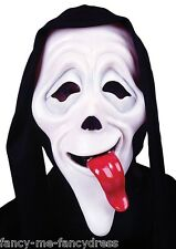 Mens Wassup Scary Movie Mask Film Halloween Scream Fancy Dress Costume Accessory