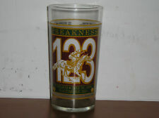 Official 123rd Running 1997 Preakness Pimlico Souvenir Glass  Horse Racing