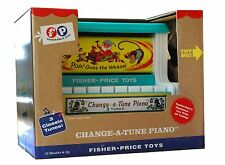 FISHER PRICE CLASSIC CHANGE A TUNE PIANO.BRAND NEW.FREE SHIPPING