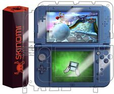 Skinomi TechSkin For Nintendo 3DS XL 2015 Skin Protector Full Coverage As Shown