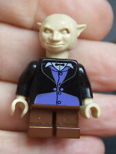 * Lego Harry Potter Minifigura: Banco Teller (Gringotts Goblin) hp078 2002