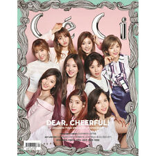 ceci KOREA FULL MAGAZINE 2017 April with TWICE (A)+folded poster+Bromide+gift1ea