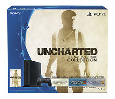 Sony PlayStation 4 UNCHARTED: The Nathan Drake Collection Bundle 500GB Jet Blac…