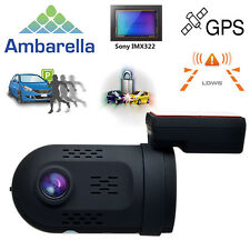 Ambarella A7LA50 HD 1080P Mini 0807 Camera Dual TF Card Solt w/GPS Car DVR Dash