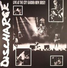 Discharge Live at the Garden New Jersey Limited Edition Clear Vinyl LP SEALED