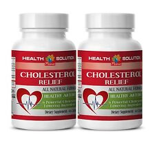 Cholesterol Test Dietary Supplement Policosanol & Plant Sterols 2 Bottles