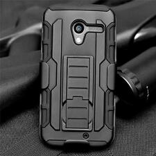Black Rubber Belt Clip Holster Box Stand Cover Case For Motorola Moto X XT1058