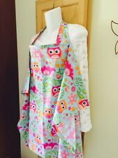 NEW   NURSING COVER like HOOTER hider* BREASTFEEDING  Cover Apron Owls