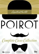 AGATHA CHRISTIE POIROT COMPLETE CASES COLLECTION New DVD Series Seasons 1 - 13