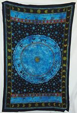 Astrology Tapestry 54 X 86 Aprox New BLUE